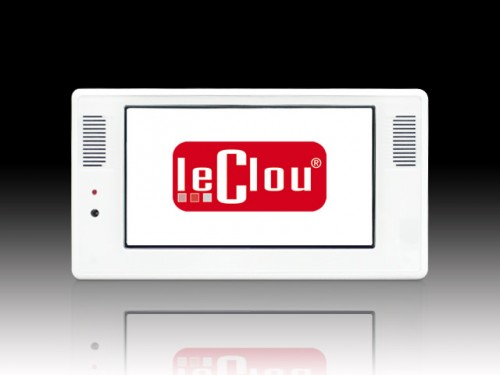 le clou 7 Zoll Display mit Player (USB)