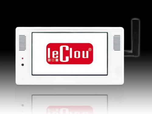 le clou 7 Zoll Display mit Player (Auto Download)