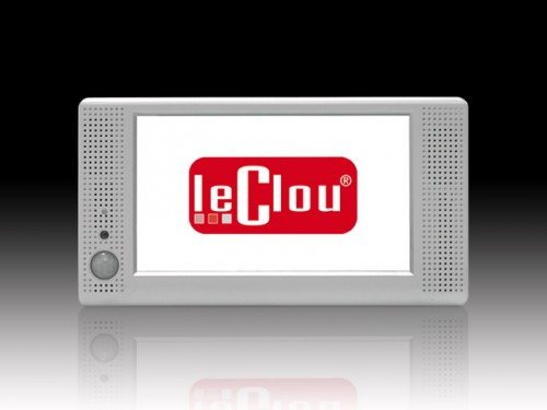 le clou 7 Zoll Display mit Player (Motion Sensor)