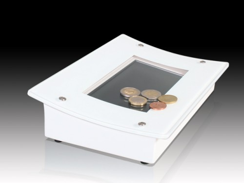 7 Zoll Digital Signage-Pay Tray
