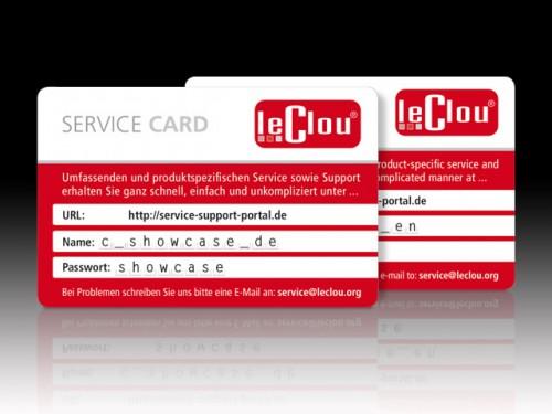 le clou Service Cards