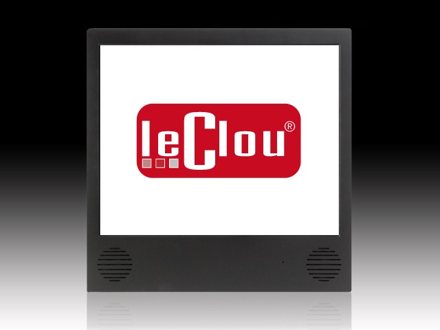 le clou 15, 17 & 19 Zoll Display mit Player (Auto Download)
