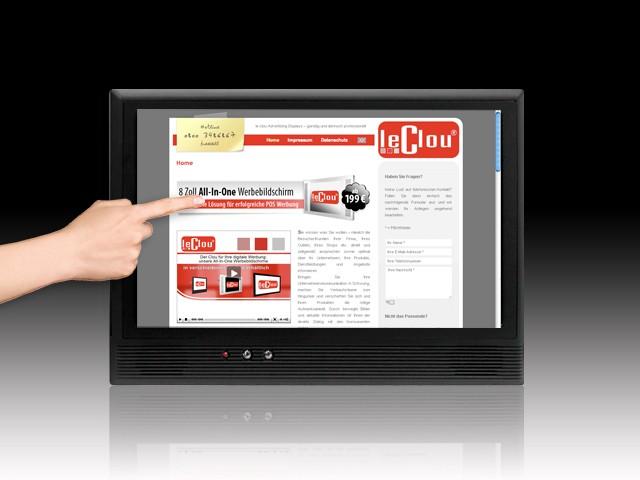 le clou 10,2 Zoll Touchscreen-System (Kiosk)