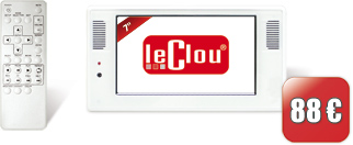 le clou 7 Zoll Ad Display (USB)